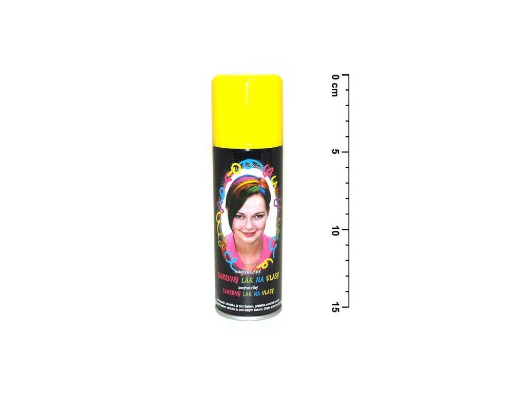 Spray na vlasy 141 neon žlutý