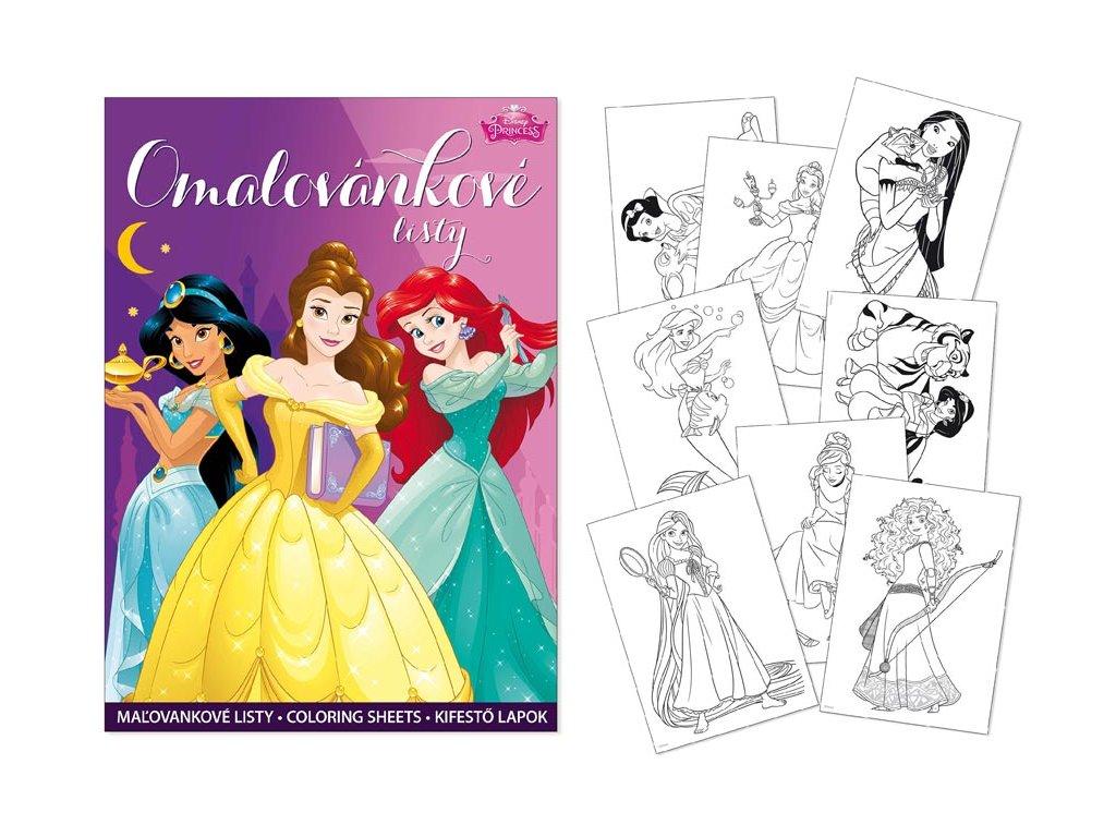 omalovánky A4 Disney (Princess) 5300992