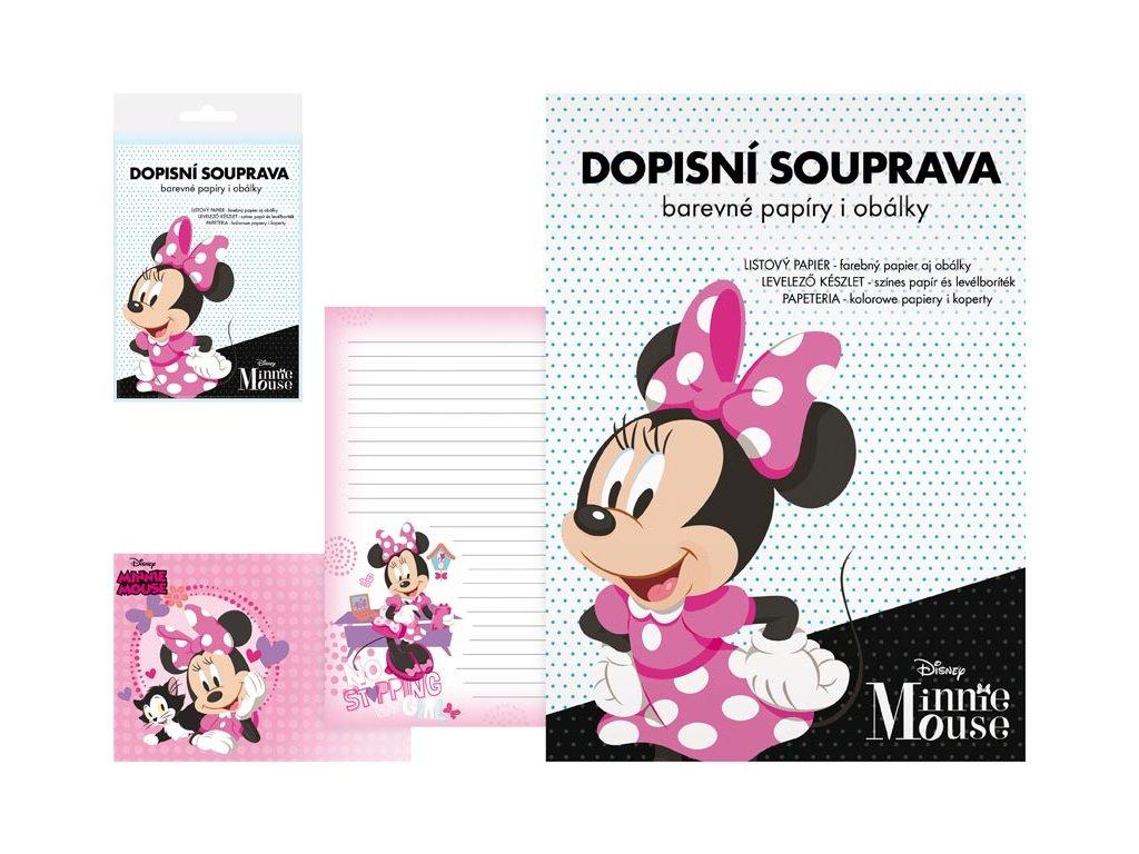 dopisní papír barevný LUX 5+10 Disney (Minnie) 5550283