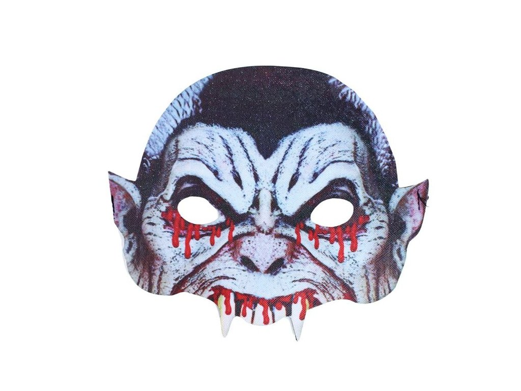 Maska Upír - Drakula - vampír / Halloween