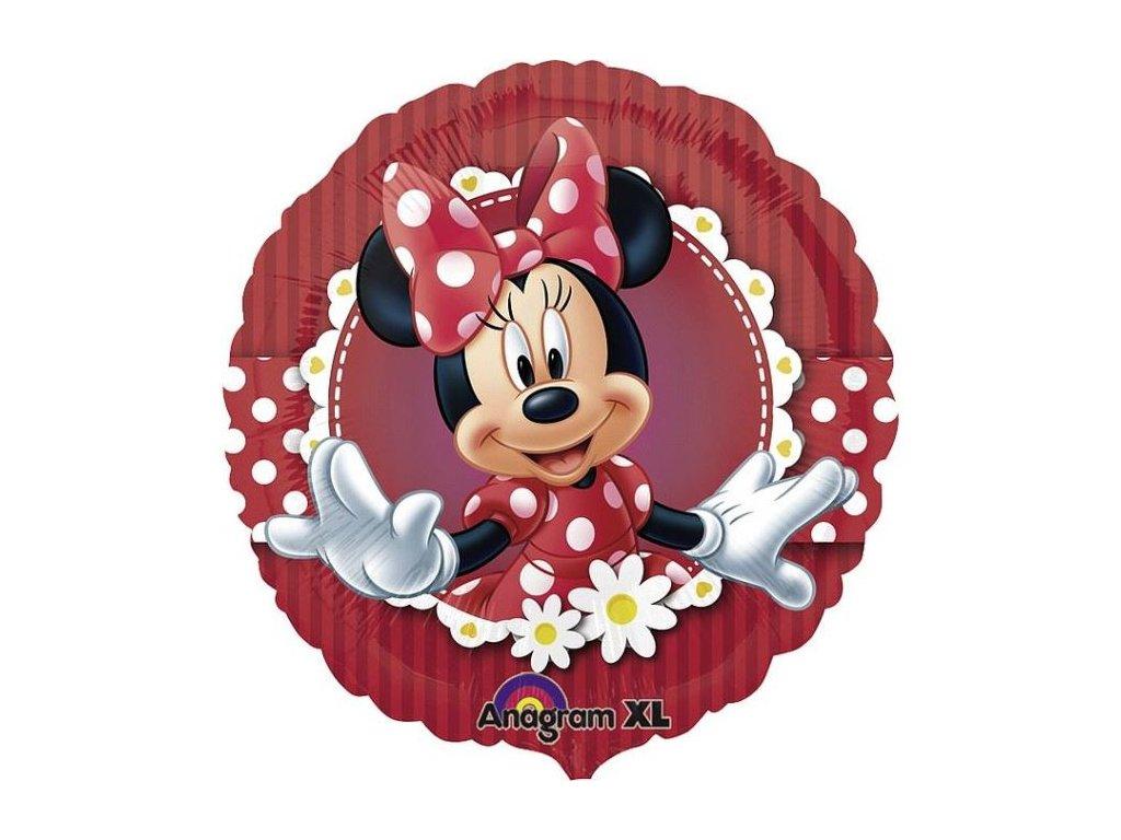 Balón foliový 43 cm - Myška Minnie