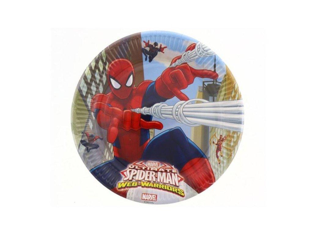 "Talíře "" Ultimate SPIDERMAN "" 23 cm, 8 ks"