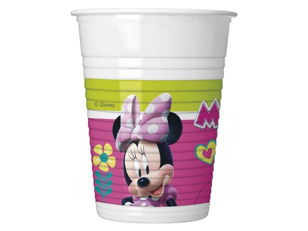 """Plastové kelímky myška """"MINNIE Happy Helpers"""" - 200 ml -8 ks"""