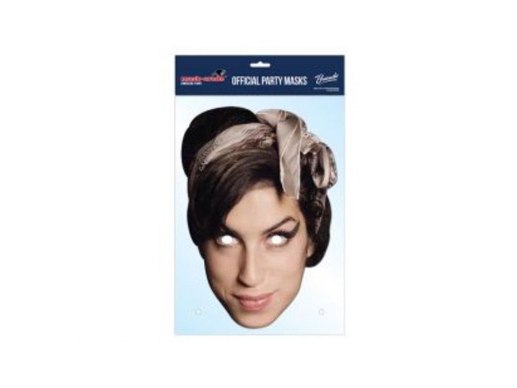 Maska celebrit - Amy Winehouse