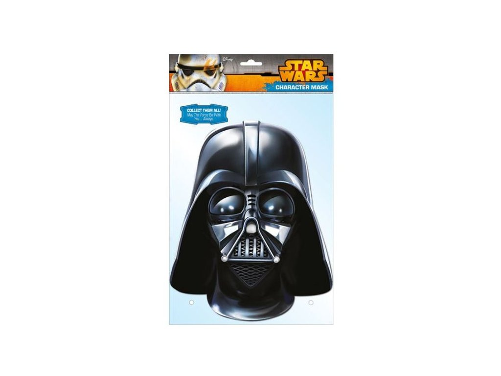 Maska celebrit - Star Wars - Darth Vader
