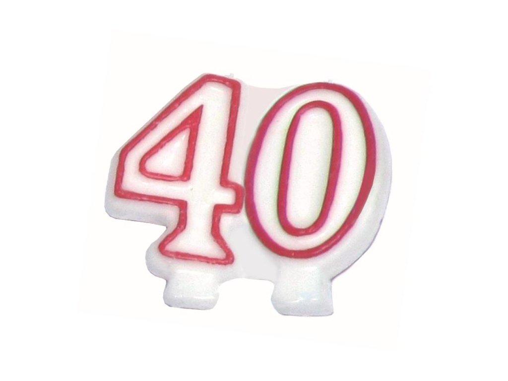 SVÍČKA ČÍSLO 40