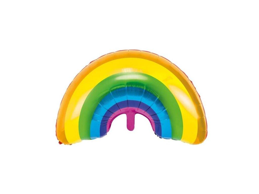 Balón foliový Rainbow - Duha 76 cm