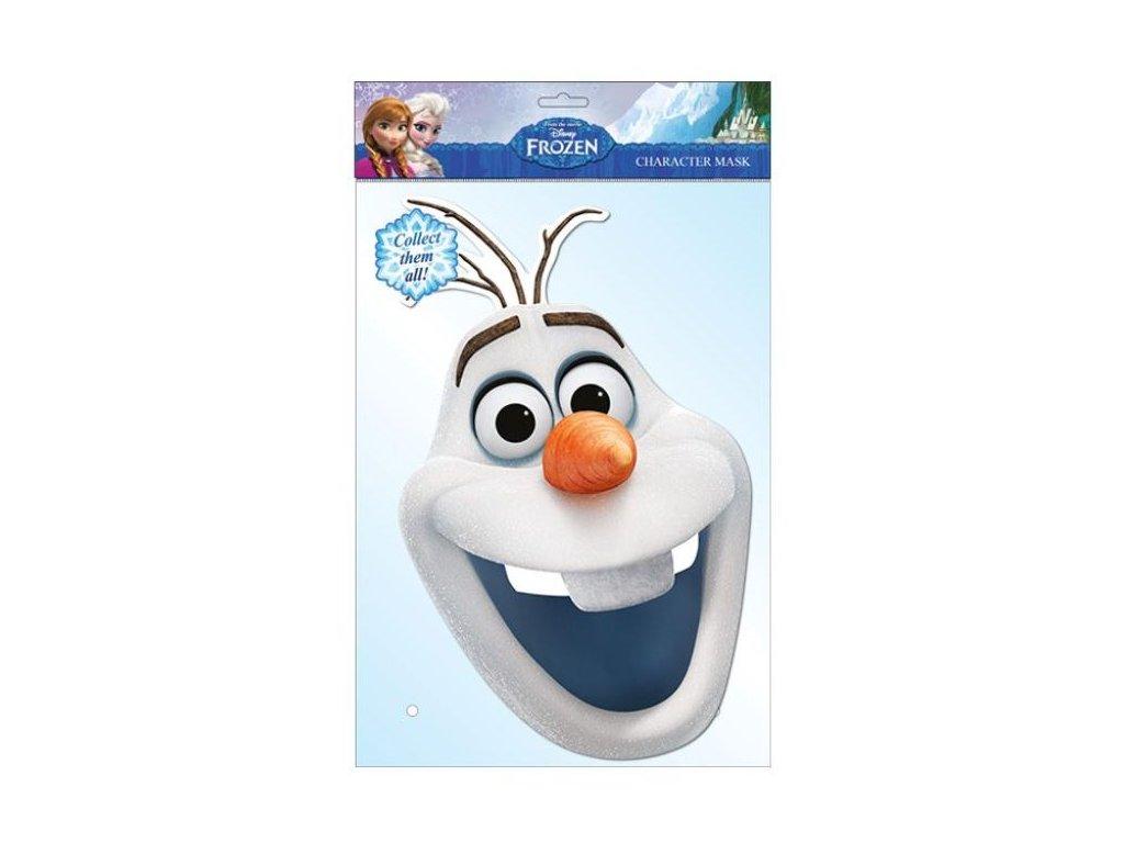 Maska Ledové království - OLAF - FROZEN
