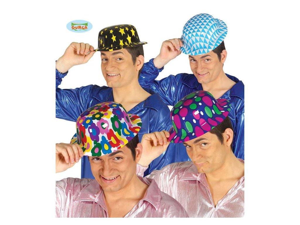 Plastový klobouk 4 druhy