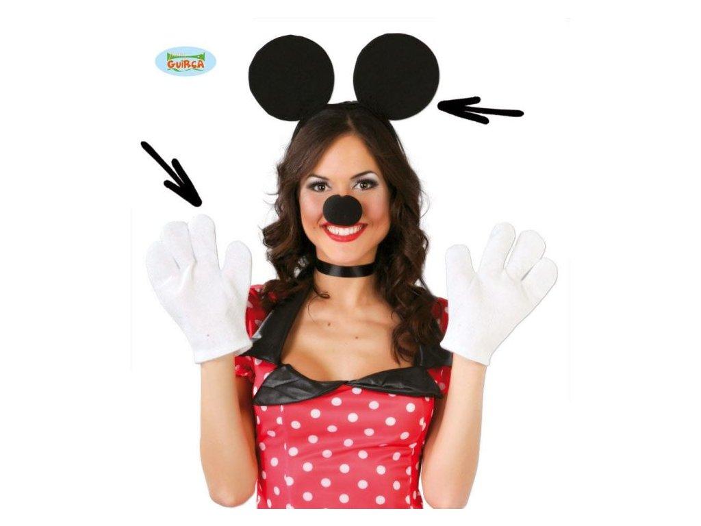 Dětská - dospělá sada myška - unisex
