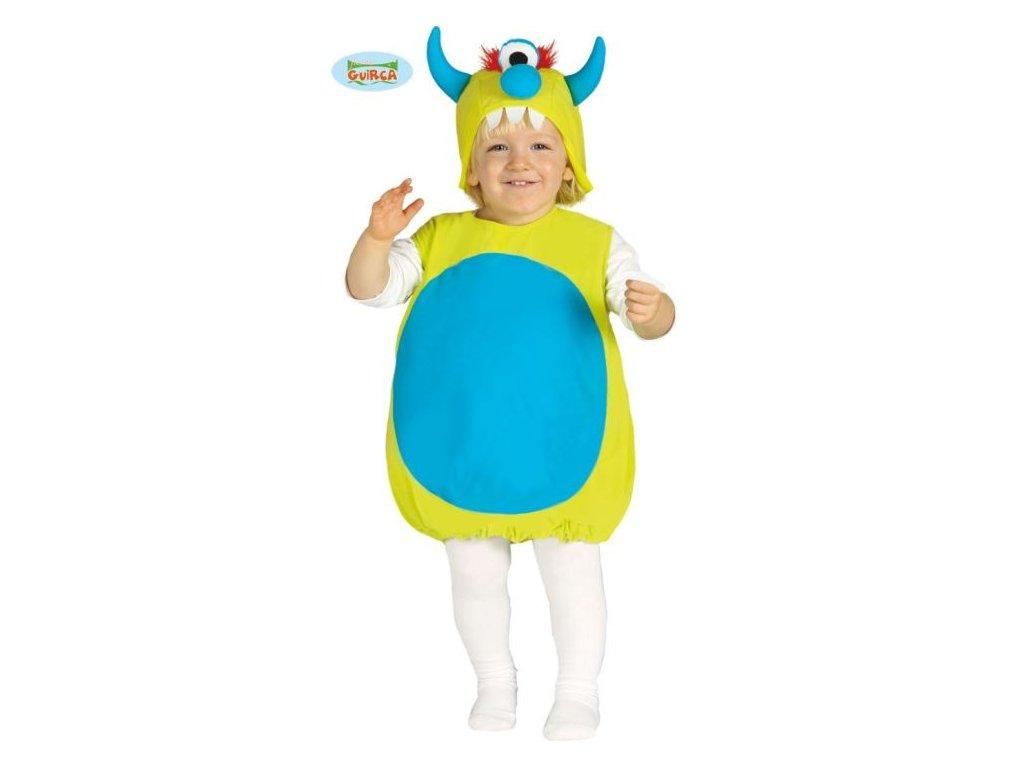 Dětský kostým - příšerka - vel. 6-12 měsíců - unisex
