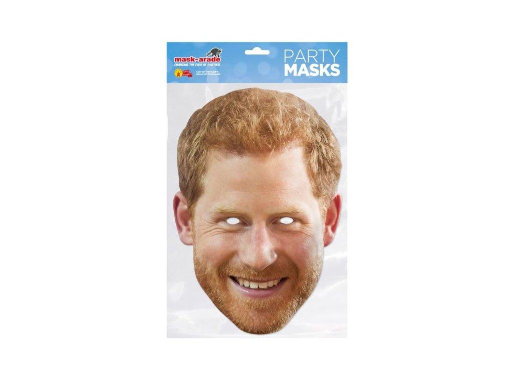 Princ Harry - maska celebrit