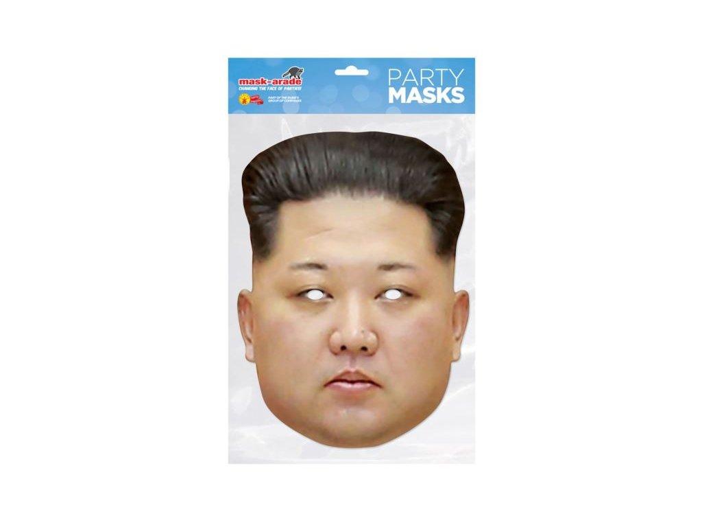 Kim Jong - maska celebrit