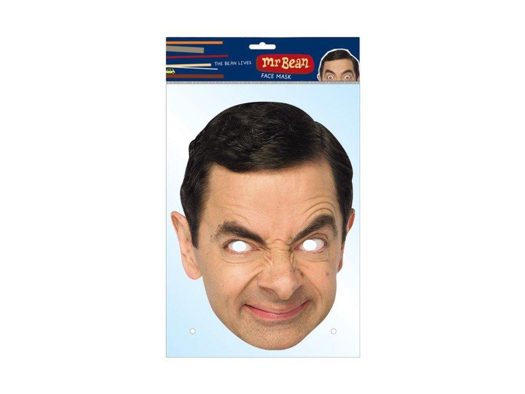 Maska celebrit - Mr.Bean