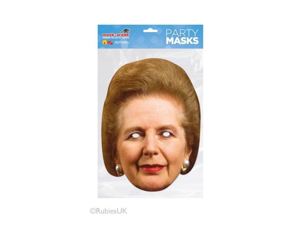 Maska celebrit - MARGARET THATCHER