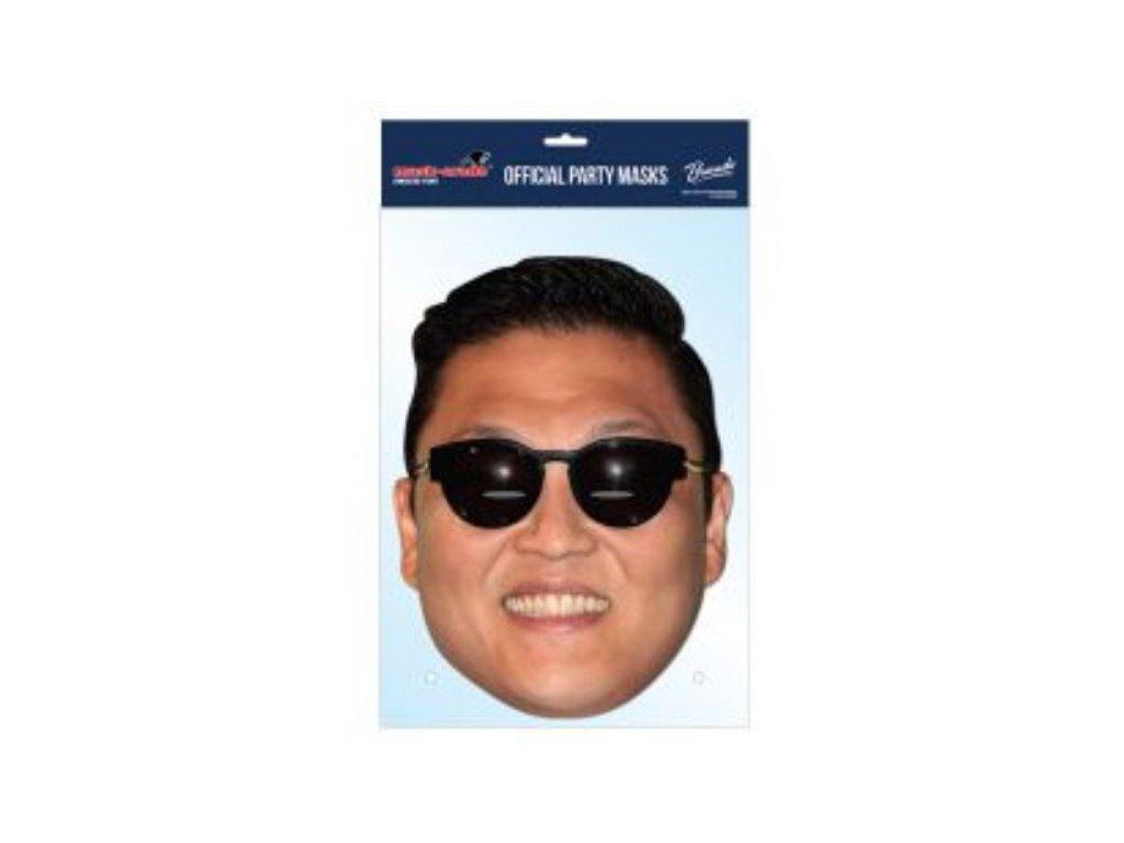 Maska celebrit - GAGNAM STYLE