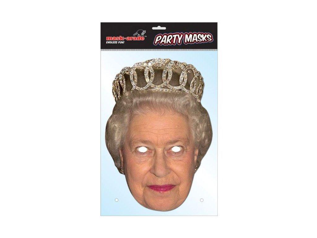 Královna Alžběta (Queen One) - Maska celebrit