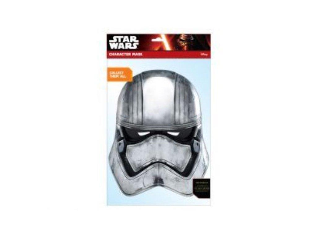 Maska celebrit - Star Wars - Hvězdné války - Captain Phasma EP7
