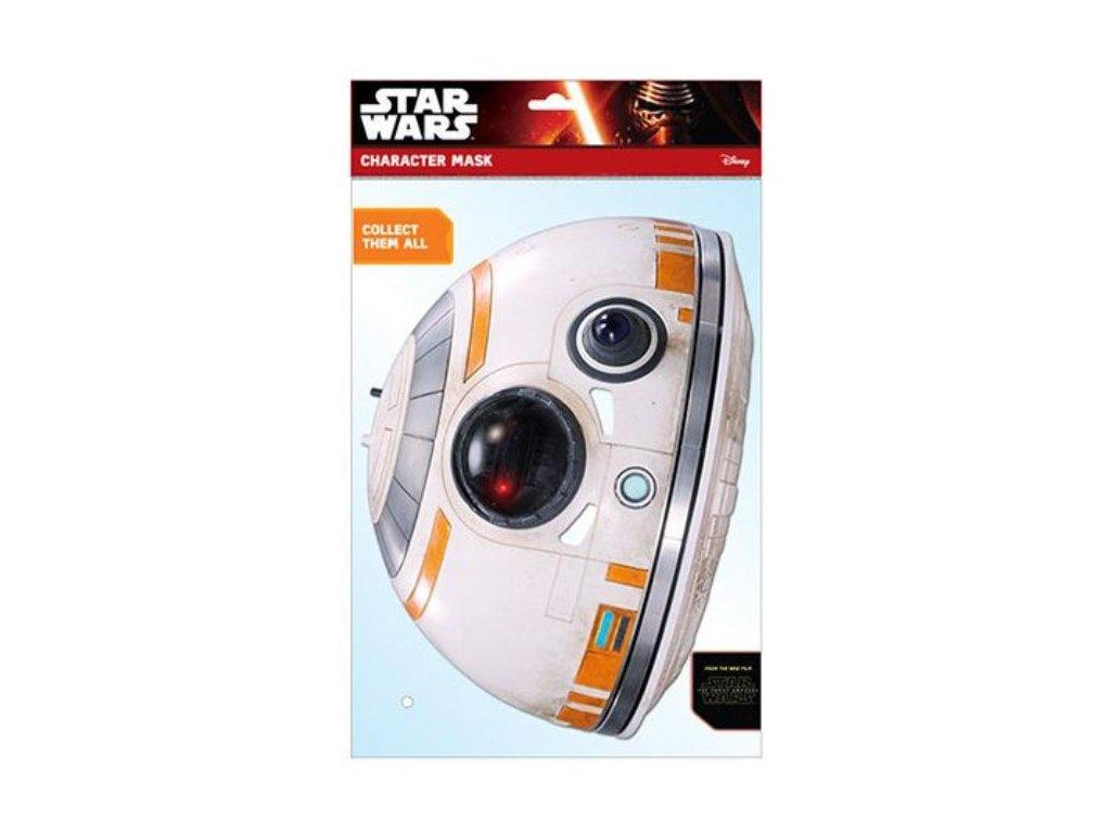 Maska celebrit - Star Wars - Hvězdné války - BB-8