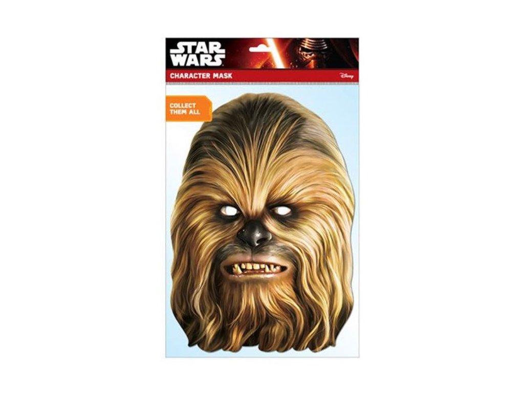 Maska celebrit - Star Wars - Hvězdné války - Chewbacca