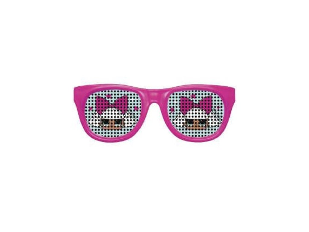 Párty brýle LOL SURPRISE, 4 ks