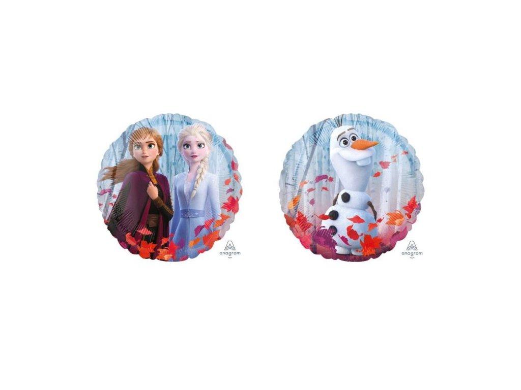 Balón foliový 43 cm - FROZEN - Ledové království