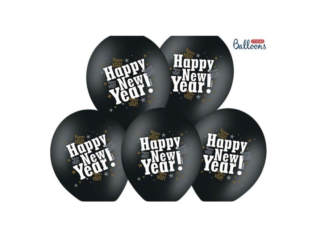 HAPPY NEW YEAR ! balónky 30cm / KUS - Silvestr