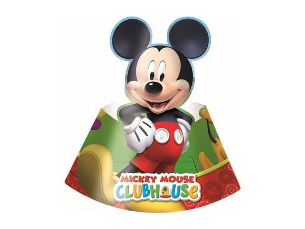 Kloboučky myšák MICKEY MOUSE - 6 ks
