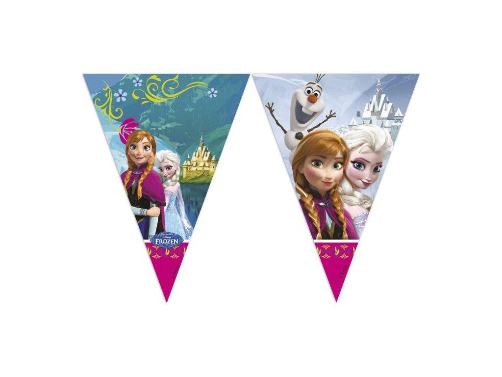 Banner - girlanda FROZEN - Ledové Království - 230 cm