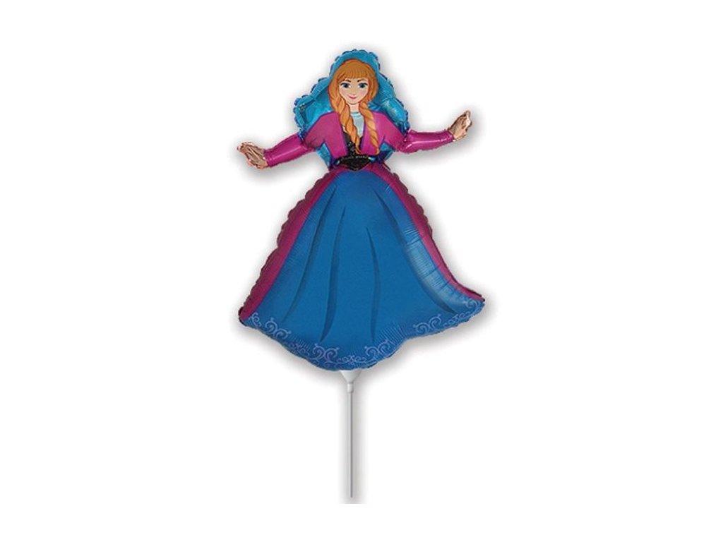Balón foliový 35 cm ANNA (NELZE PLNIT HELIEM)