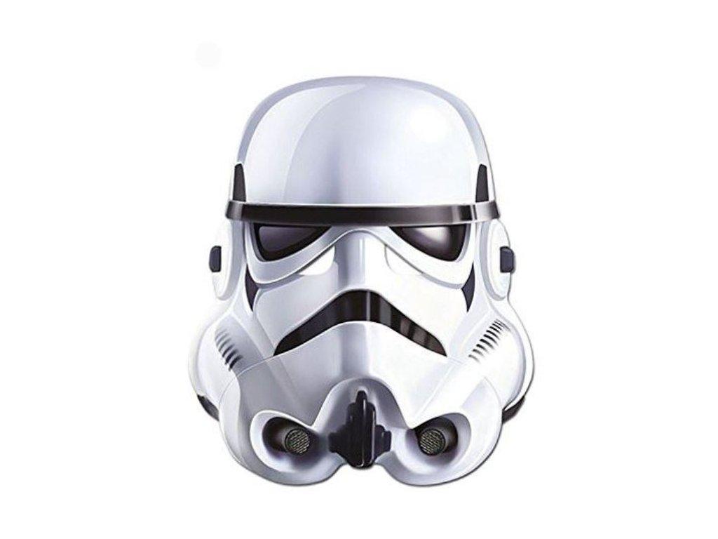 Maska celebrit - Star Wars - Stormtrooper