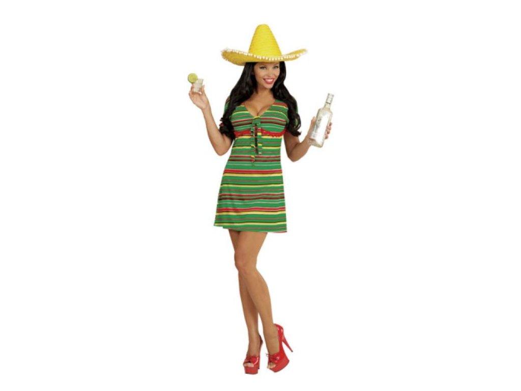 Kostým Mexiko - Mexičanka vel. M