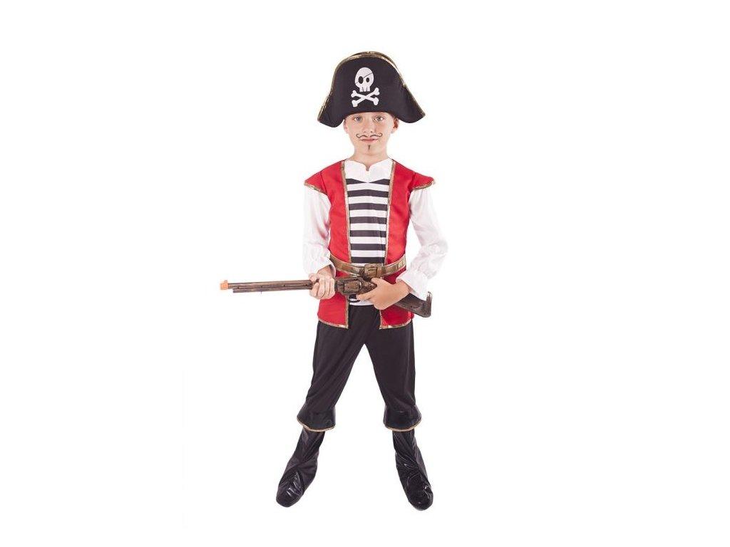 Kostým pirát s kloboukem vel. L