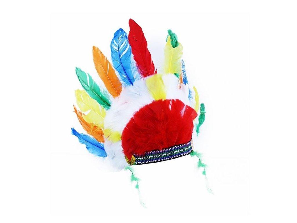 čelenka indiánská - Apač - bojovník