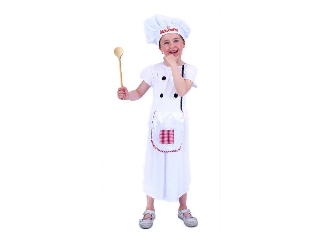 Dětský kostým kuchařka vel.M