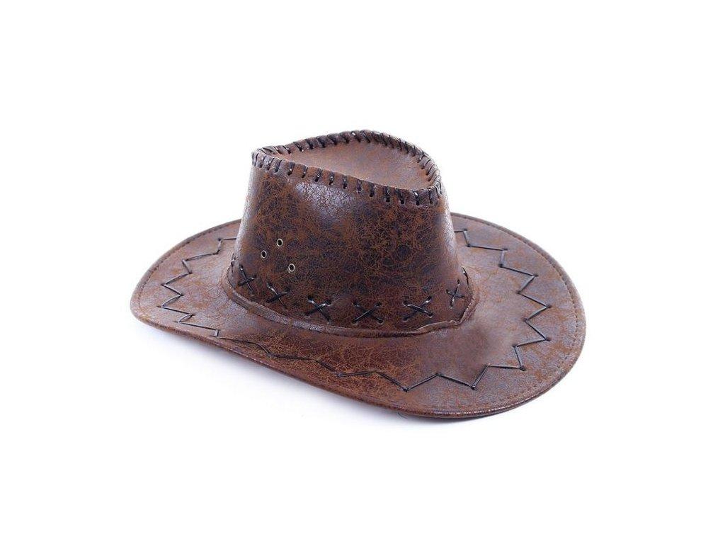 klobouk kovbojský, dospělý