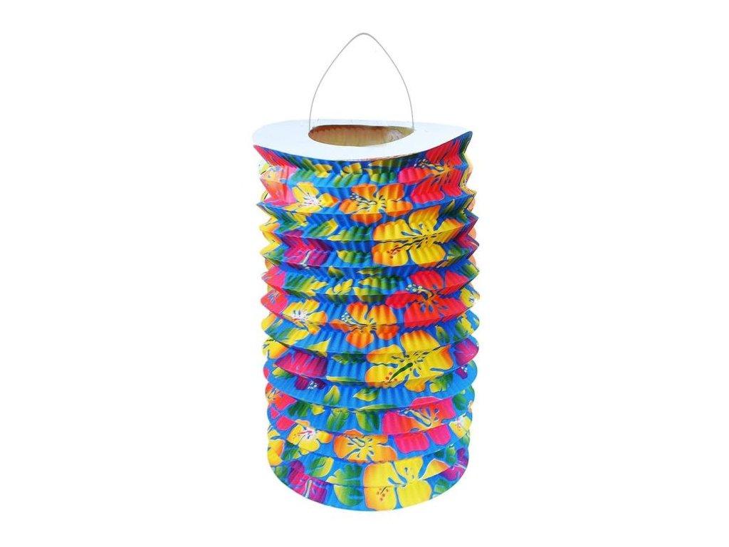Lampion HAWAII,15cm, čajová svíčka