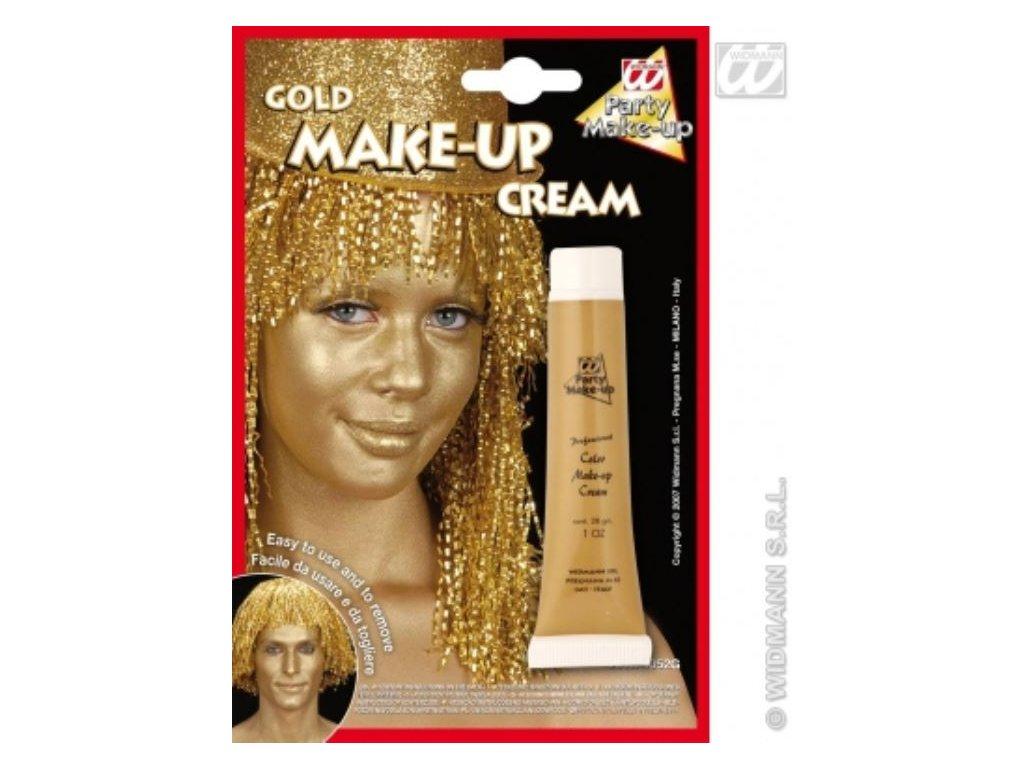 Make-up tuba zlatý - 28 ml