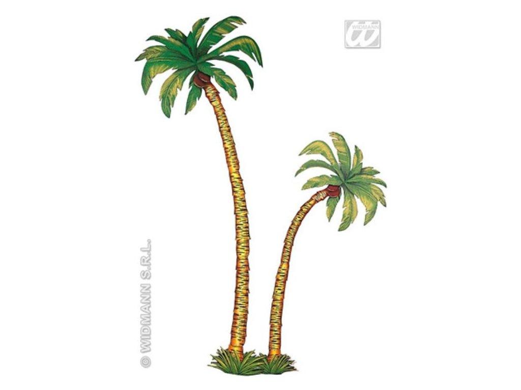 Dekorace palmy - Havaj - Hawaii - 2ks