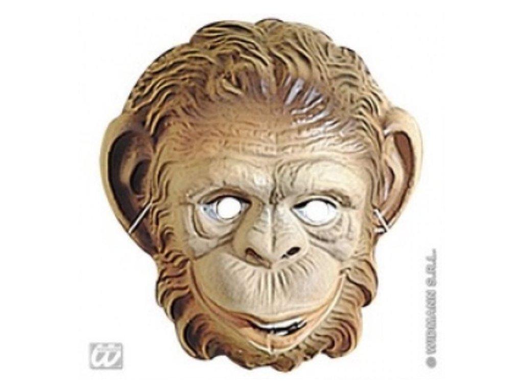 Maska dětská plast Opice