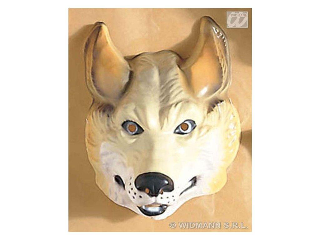 Maska plast Vlk
