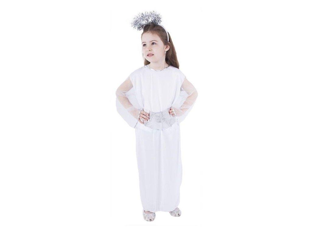 Karnevalový kostým anděl vel. M - vánoce