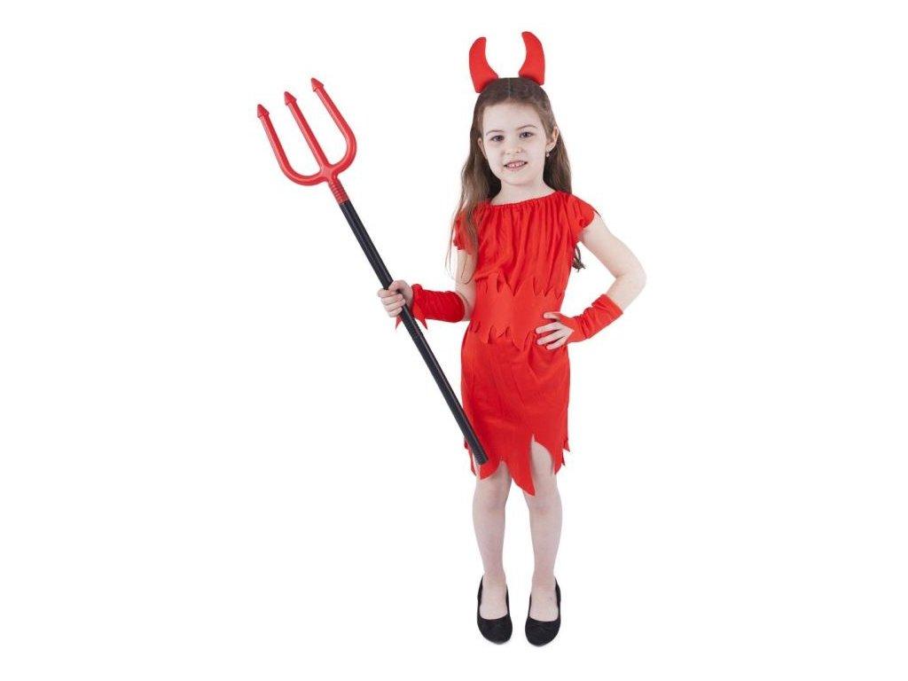 Karnevalový kostým čertice vel. M - vánoce