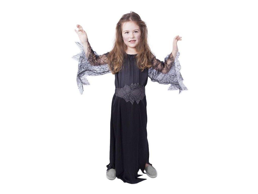 Kostým čarodějnice černá, vel. S / HALLOWEEN