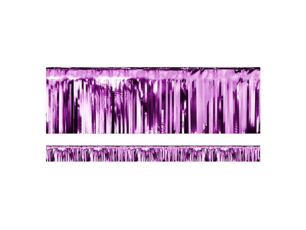 PÁRTY ZÁVĚS FIALOVÝ 18,5 x 400 cm