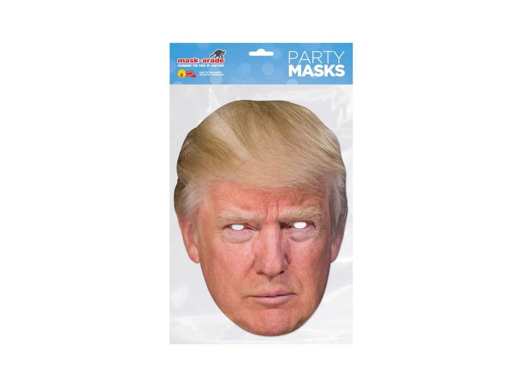 Donald TRUMP - Maska celebrit - prezident