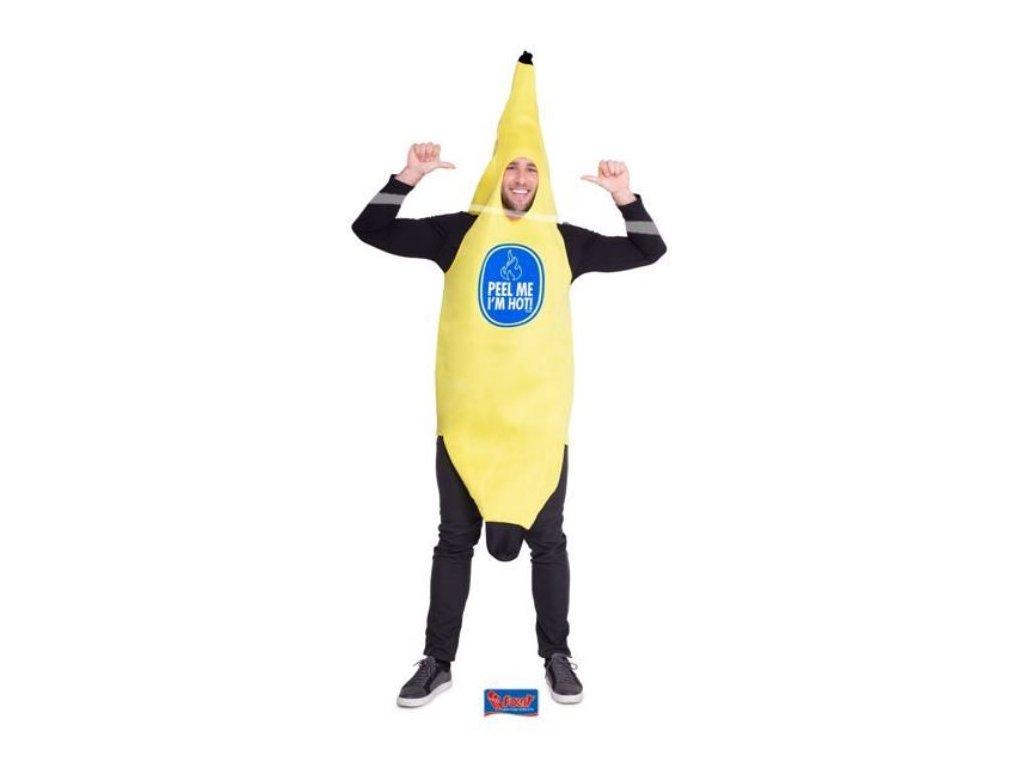 Pěnový kostým Banán - Peel me - Oloupej mě - univerzalní velikost - UNISEX