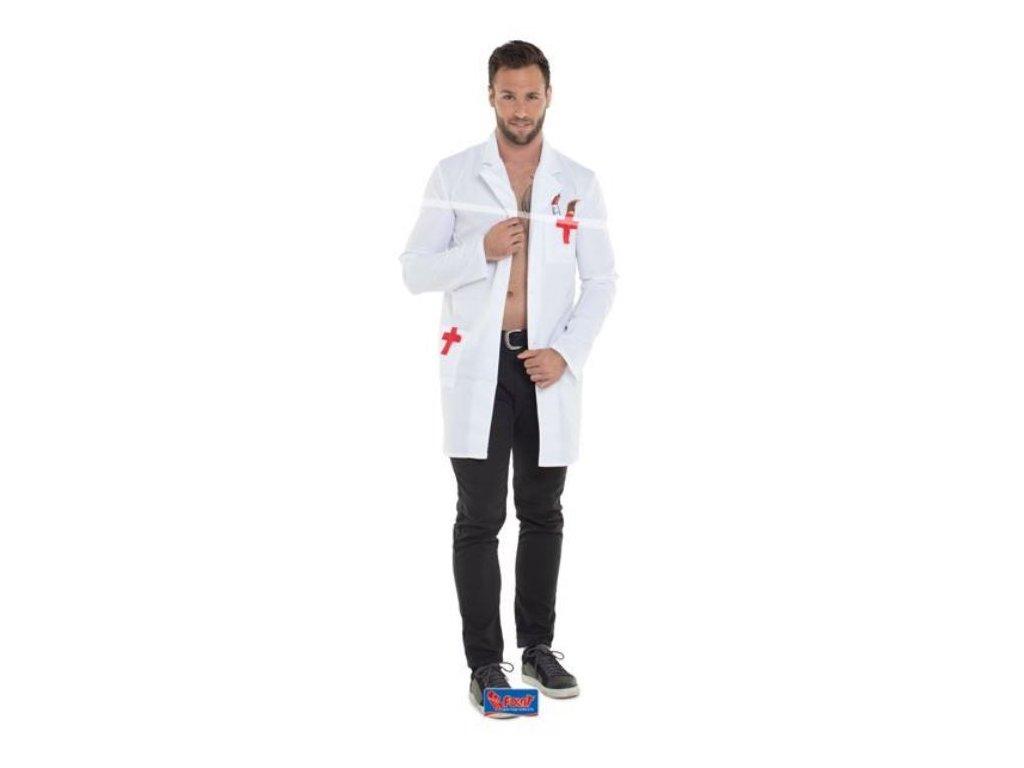 Kostým plášť Doktor - univerzální velikost - unisex
