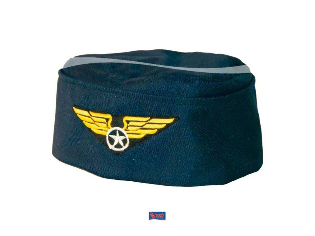Čepice letuška - stewardka