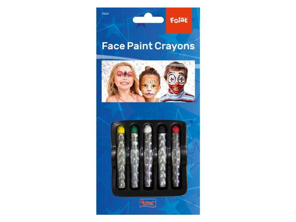 Tužky make-up set klaun - 5 ks